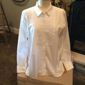 Gap Cotton Tux Front Shirt
